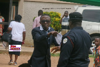 Reginald Sekyi-Brown was arrested for protesting the delays in opening the UG Medical Centre
