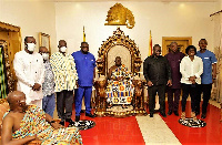Otumfuo Osei Tutu made the call when Mr Asenso Boakye paid a courtesy call on him at Manhyia