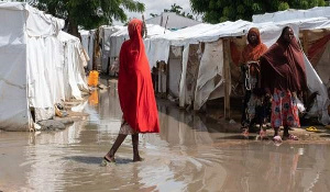 Temporary camps have been hit by extreme weather in recent years