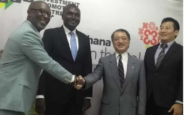 Ghana-Japan Business Promotion Committee commissioned