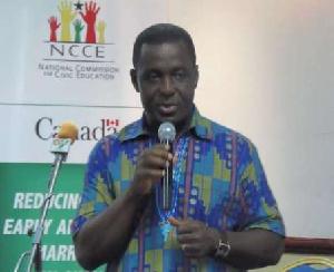 Hearts' General Manager Gerald Ankrah