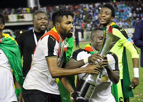 Black Stars defeated the Super Eagles of Nigeria to $100 000 in prize-money and the trophyt