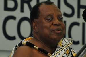 Nana S. Krobea Asante, Chairman of the Committee of Legal Affairs of the National House of Chiefs