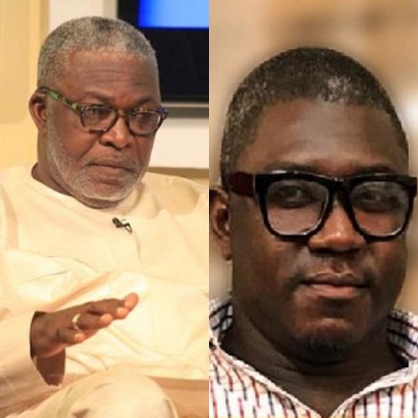 Mr Kofi Kapito (L) and Nana Ansah Obofuor (R)