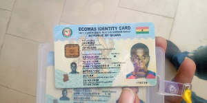 John Amoah, and his two daughters were arrested for possession of several cards