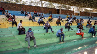 Violators of restrictions were taken to stadiums where they were forced to sit all night or day