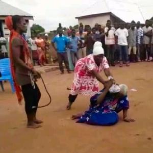 90-year-old woman lynched at Kafaba near Salaga