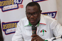 Samuel Ofosu Ampofo was elected Chairman of NDC at the National Congress
