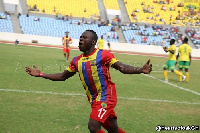 Patrick Razak scored the only goal for Hearts to seal victory over Kotoko