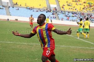 Accra Hearts of Oak winger Patrick Razak