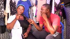 Patience Boakye with DJ Nyaami on SVTV Africa
