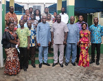 Mr. Freeman Gobah, Country Director of POP and others in a group photography