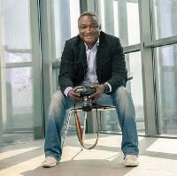 The late Ghanaian photographer Emmanuel Bobbie
