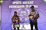 Winifred Ntumi and Christian Amoah have been awarded by CAS