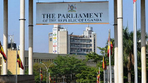 Premises of the Ugandan Parliament