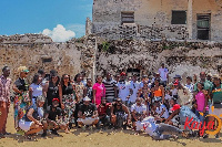 Participants of the getaway trip by Kaya Tours
