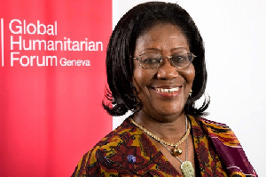Chancellor of University of Ghana, Mary Chinery-Hesse