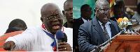President-elect Nana Akufo-Addo and Martin Amidu