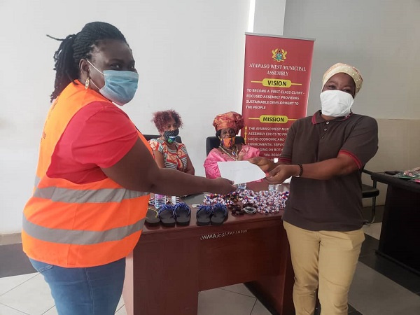 GO Help Africa Foundation supports women in Ayawaso West