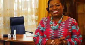 Nana Oye Lithur, former Minister of Gender, Children and Social Protection