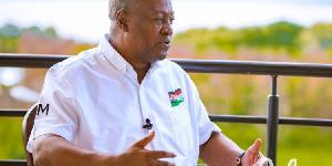 Mr John Dramani Mahama, former president of Ghana