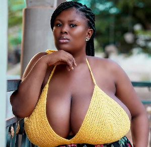 Millicent Paticia Amoah is a photo model