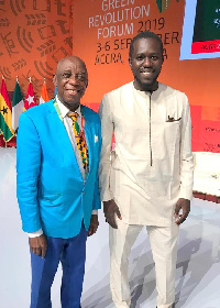 Dr. Thomas Mensah and Mustpha Cisse