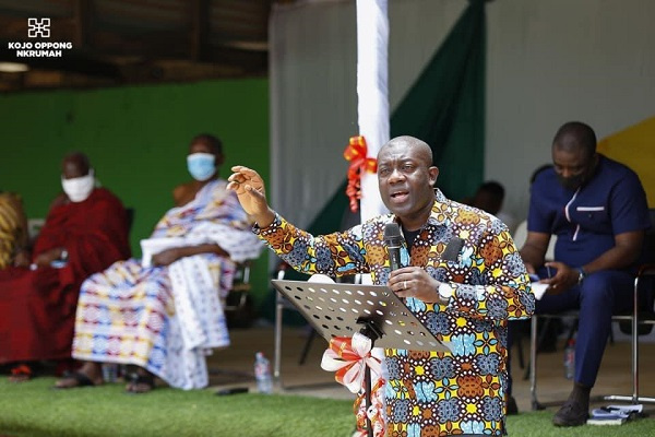 Easter Love: Oppong Nkrumah supports 400 constituents with paid apprenticeship program. 51