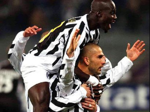 A file photo of Stephen Appiah's days at Juventus