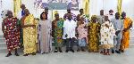 Senior Minister, Yaw Osafo-Maafo takes campaign tour to Western Region