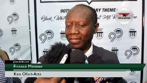 Finance Minister , Ken Ofori Atta