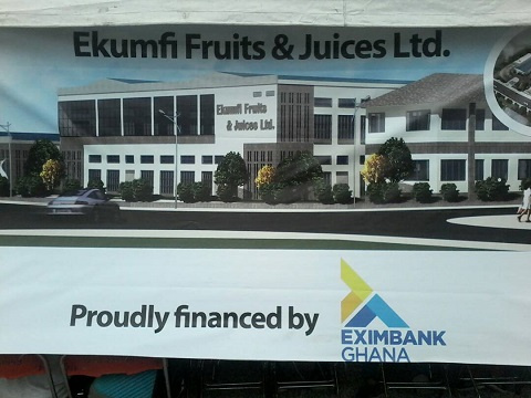 The land is to be used by pineapple outgrowers to feed the Ekumfi Fruit and Juice Limited