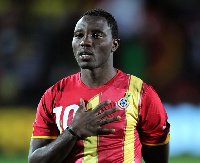 Kwadwo Asamoah, Black Stars midfielder