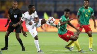 It ended goalless between Ghana and Cameroon at the Ismailia Stadium