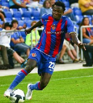 Samuel Inkoom at FC Basel