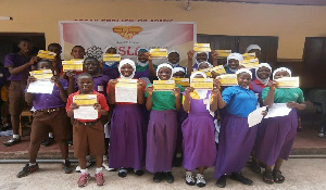The students pledged their allegiance to the Smart Ghana contract