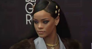 American rapper Rihanna
