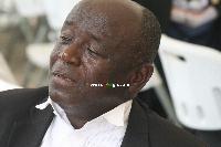 Veteran football administrator, Lawyer Ntow Fianko
