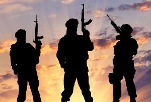 File photo of terrorists
