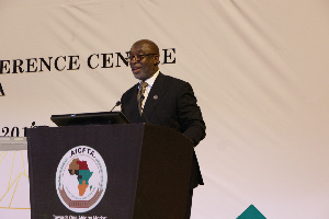 Yofi Grant, CEO of the Ghana Investment Promotion Center (GIPC)