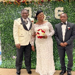 Former Kotoko and Hearts ace Emmanuel Osei Kuffour marries in US