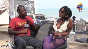 Afrobeat artiste, Labena with DJ Nyaami