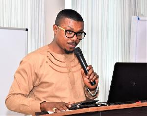Executive Secretary of NaCCA Dr. Prince Armah