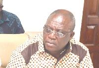 Kudjoe Fianoo, Chairman of GHALCA
