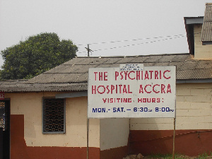 File Photo: Accra Psychiatry Hospital