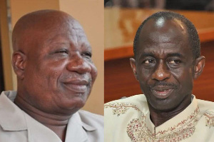 Bernard Allotey Jacobs and  Johnson Asiedu Nketia