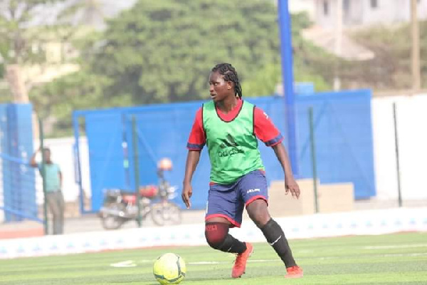 I nearly gave up on my dreams – Police Ladies midfielder Mary Entoah