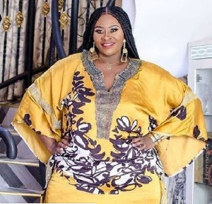 Kumawood actress, Mercy Smith popularly known as Little