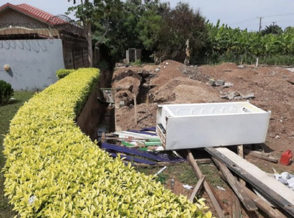 Adenta residents petition MCE to halt construction of illegal building project