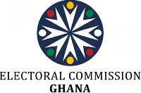 Electoral Commission logo .        File photo.